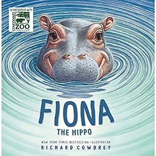 Fiona the Hippo audiobook cover art