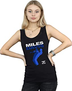 Miles Davis Mujer Kind of Blue Camiseta Sin Mangas