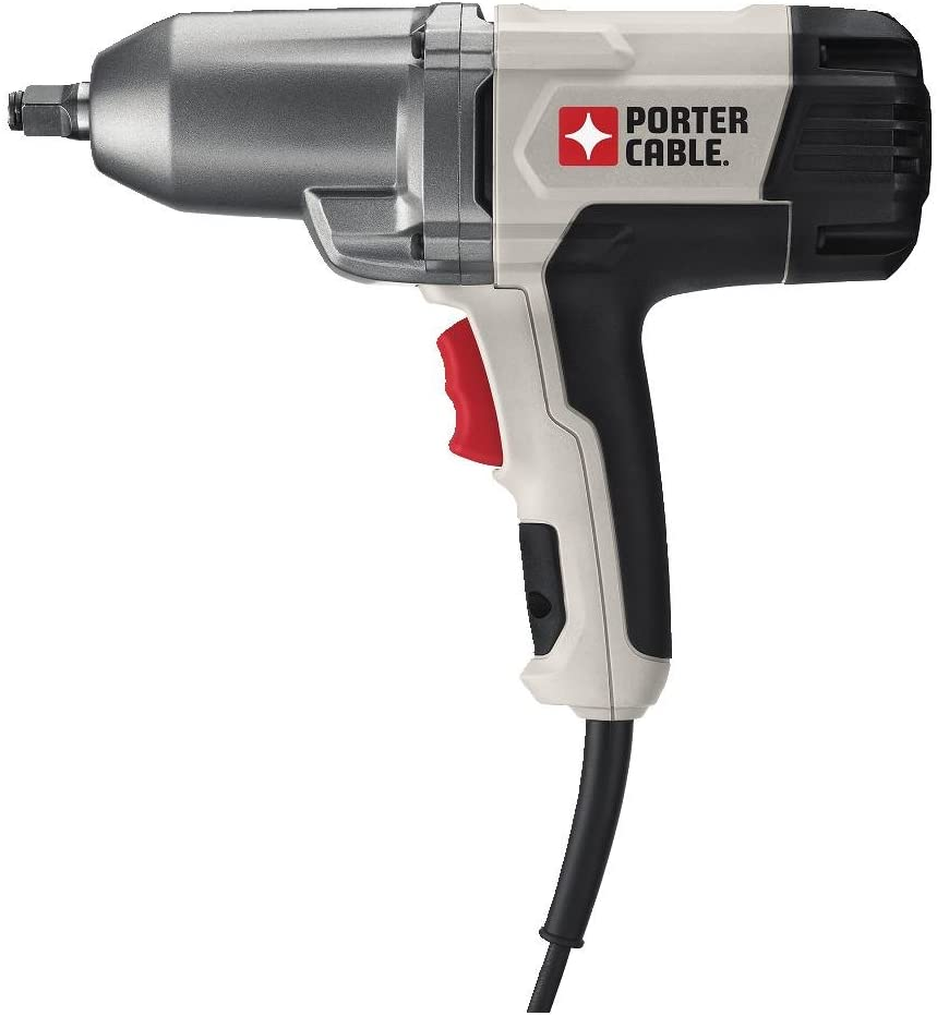 Porter-Cable PCE210 Corded Impact Wrench, 1/2-In. Hog Ring Anvil