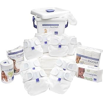 Bambino Mio, miosoft kit premium de la naissance à la propreté, blanc