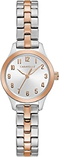 Caravelle Women's Rose-Gold Accented Watch - 45L175
