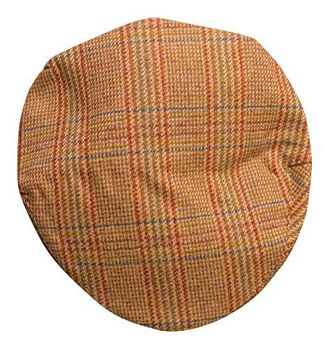 Homme Classique Sport Capuchon Tweed – 100% Laine de Style Code 160911 - Marron -