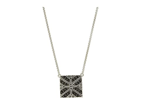 John Hardy Modern Chain Necklace with Black Sapphire
