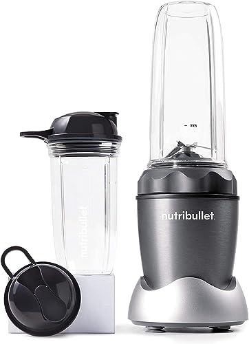 high quality NutriBullet Pro 1000 Single wholesale online sale Serve Blender Very Powerful 1000 Watts 7-Piece Set, Gray online sale