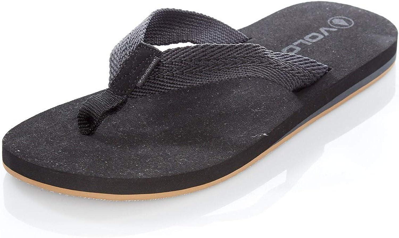 Volcom Herren Daycation Textil-Flip-Flop Sandale Sandale  Online-Verkauf sparen Sie 70%
