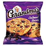 Grandma's Big Cookie, Oatmeal Raisin, 2.5-Ounce Packages (Pack of 60) by Grandma's