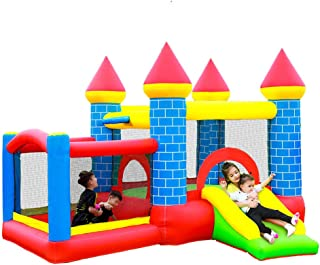 Doctor Dolphin Inflatable Todler Bounce House Kids Bouncy Castle Jumper House for Outdoor Party with Blower ¡