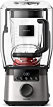 Philips Kitchen Appliances HR3868/90 High Speed Power Blender with ProBlend Extreme Technology, Black and Silver