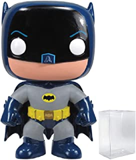 DC Comics: Batman 1966 TV Series - Adam West Batman 1966 Funko Pop! Vinyl Figure (Includes Compatible Pop Box Protector Case)