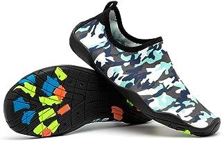 056377a8e9f30e UBHOME Mens Water Shoes Barefoot Quick Dry Aqua Socks for Beach Swim Pool  Boat