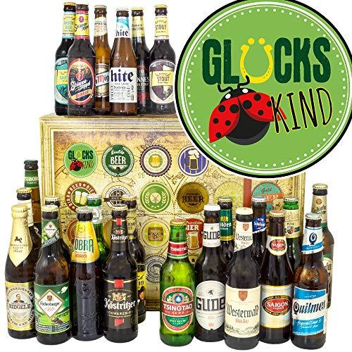 Glückskind / 24x Bier DE und Welt/Glückskind Geschenke/Weihnachtskalender Bier