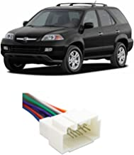 Compatible with Acura MDX 2001-2006 Factory Stereo to Aftermarket Radio Install Harness Adapter
