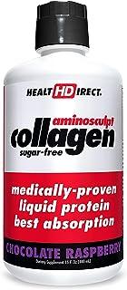 Sponsored Ad - AminoSculpt Sugar-Free 16 Gram, Medical-Grade Liquid Collagen Peptides by Health Direct, 15oz, Chocolate Ra...