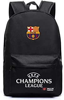 UEFA Real Madrid Backpack-AC Milan Rucksack-Real Betis School Bag-Barcelona Travel Laptop Backpacks