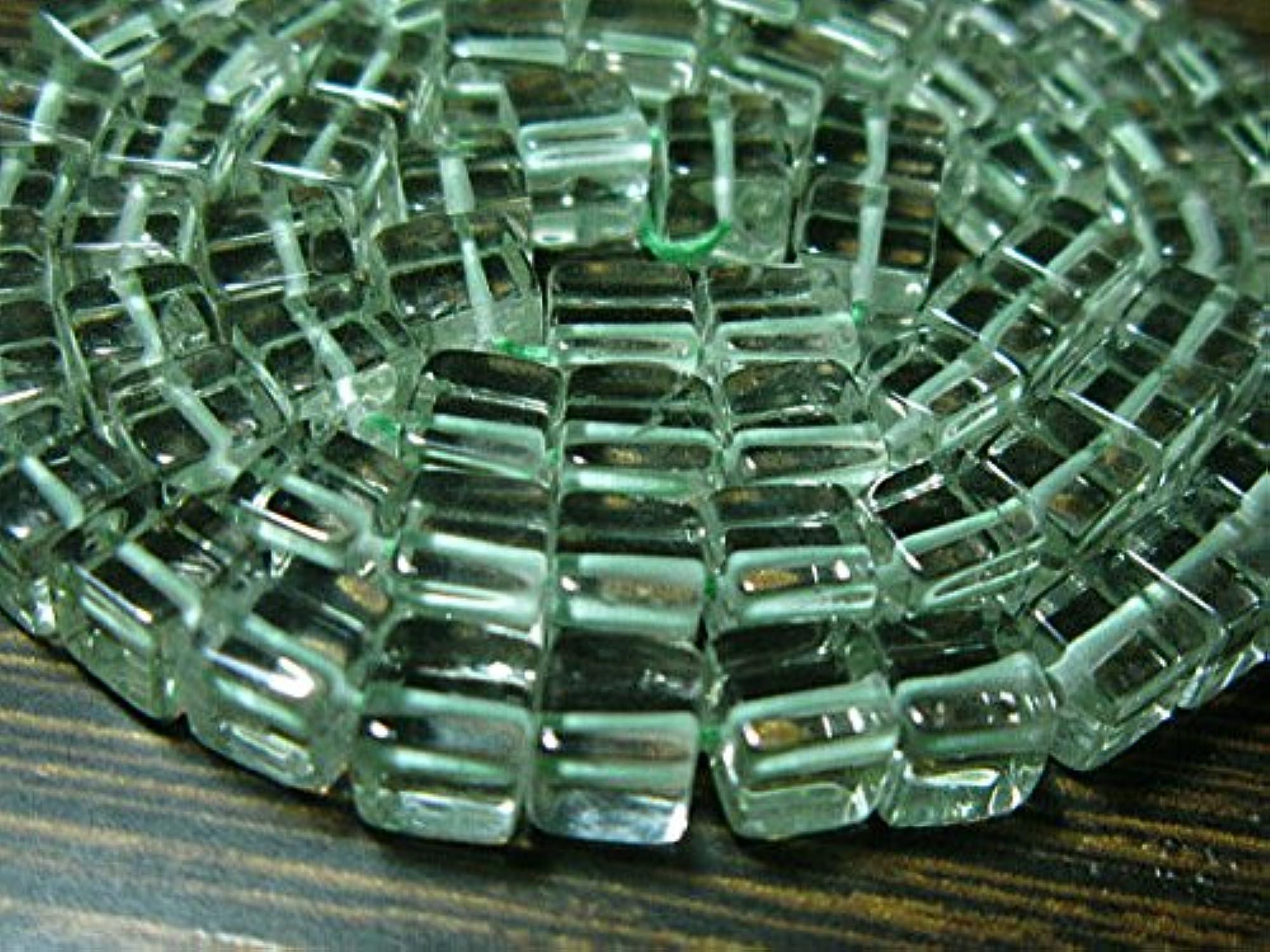 grandes precios de descuento 2Strand–AAA amatista verde suave cubo Exclusive 8 8 8 Strand–piedra Medidas -5mm  ofrecemos varias marcas famosas