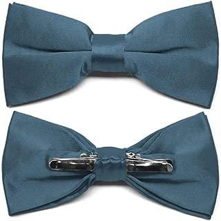 Loch Blue Clip-On Bow Tie