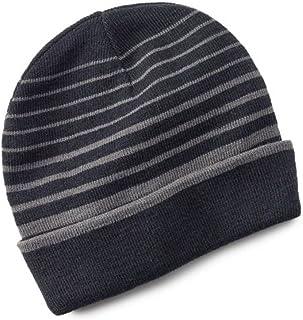 5af1256609a Tek Gear Warmtek Striped Reversible Knit Beanie Hat Men One Size