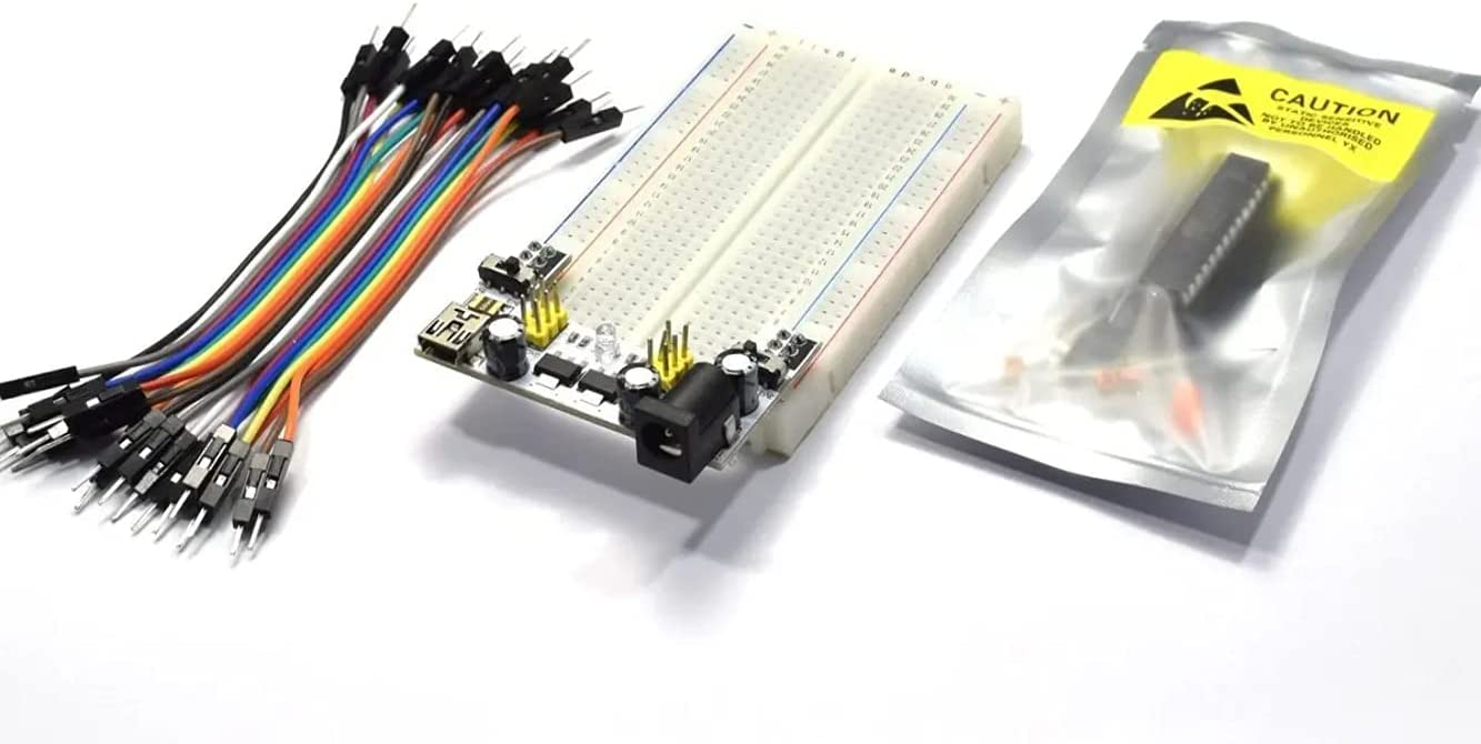 CANADUINO Parts Kit with Arduino-On-A-Breadboa Max 70% OFF Atmega328P-PU for Save money