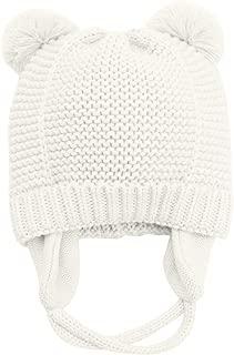 Earflaps Newborn Baby Infant Toddler Kids Knit Hat Beanie