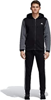 Men's Energize Track Suit 3 Stripes Hoodie Tracksuit Blue/Black