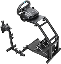 Marada Racing Wheel Stand with V2 Support Game Support Stand Up Simulation Driving Bracket for Logitech G29, G27 and G25 R...