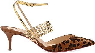 Christian Louboutin Women's 3190361C194 Multicolor Leather Heels