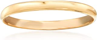 Ross-Simons Baby's 14kt Yellow Gold Band Ring
