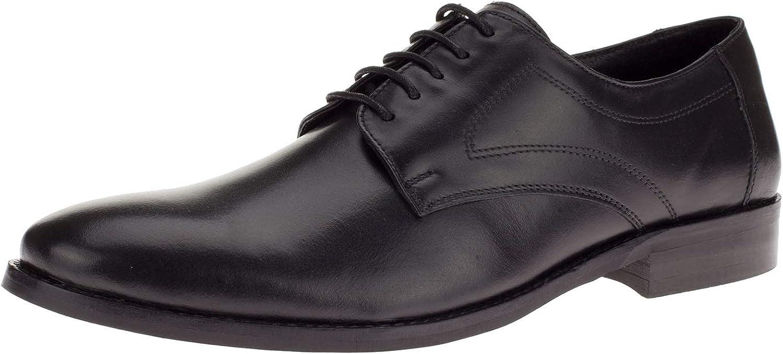 DTI GV free shipping Executive Men's Oklahoma City Mall Leather Dress Madison Oxford Lace-Up Shoe