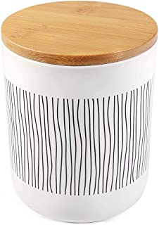 Best large ceramic canister with lid Reviews