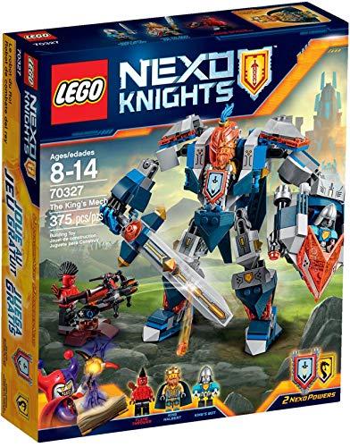 Lego Nexo Knights 70327 - The King s Mech, Set di 3 Figurine Mini