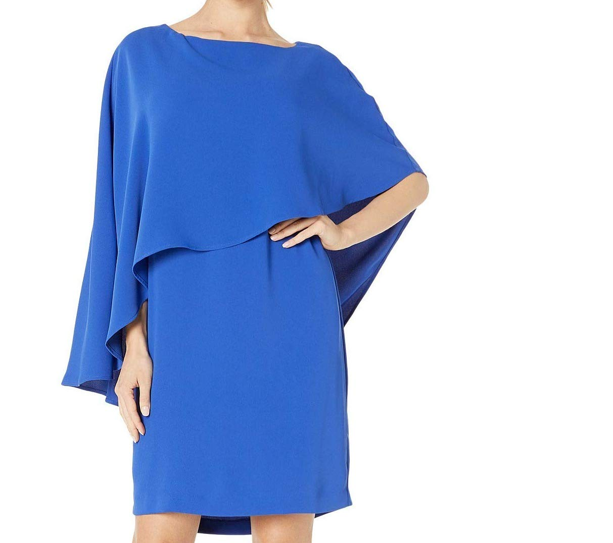 Available at Amazon: Trina Turk Women's Adore Cape Overlay Dress