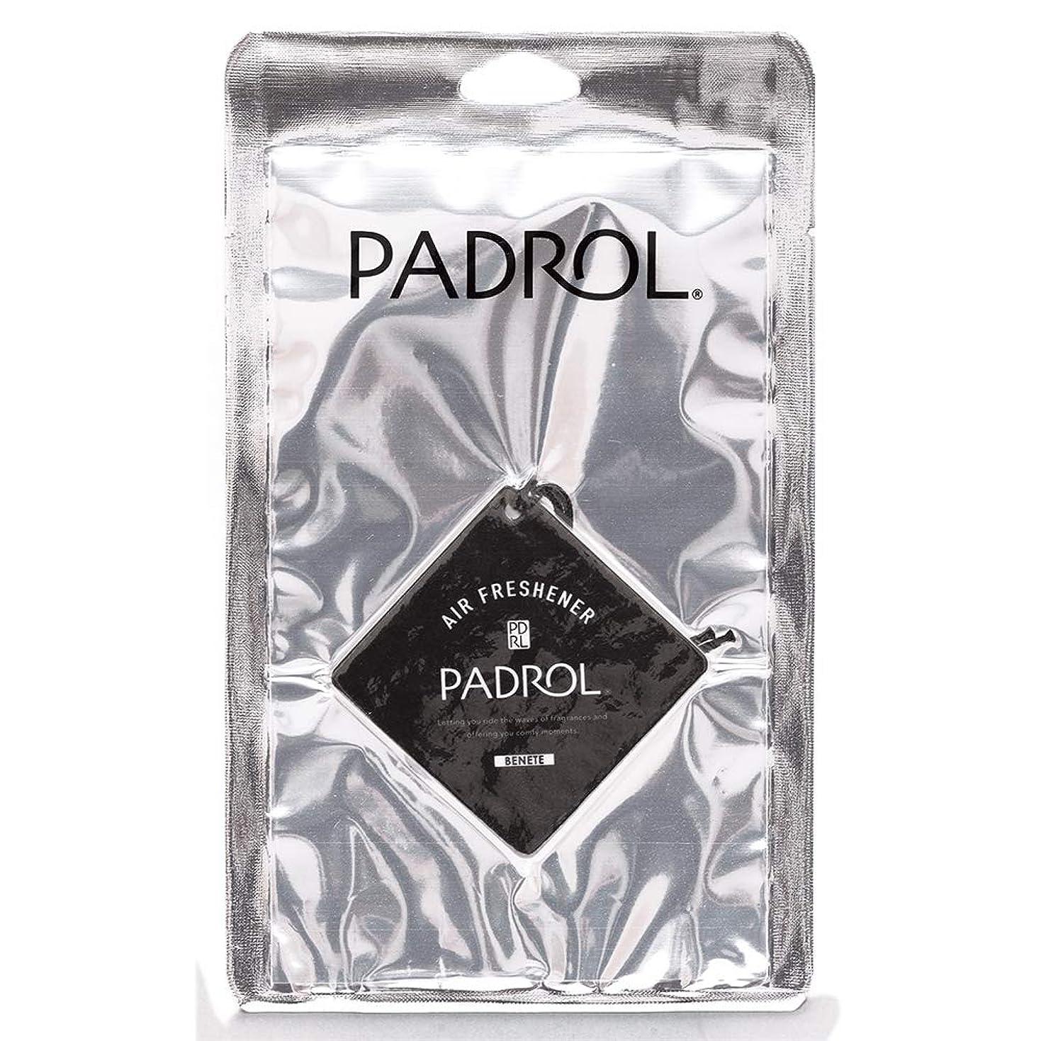 小売焼く空洞PADROL ルームフレグランス エアーフレッシュナー BENETE 吊り下げ ホワイトムスクの香り PAB-5-01