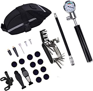 Perfeclan 16-in-1 Bike Repair Tool Kit Tyre Puncture Patch Easy to Carry