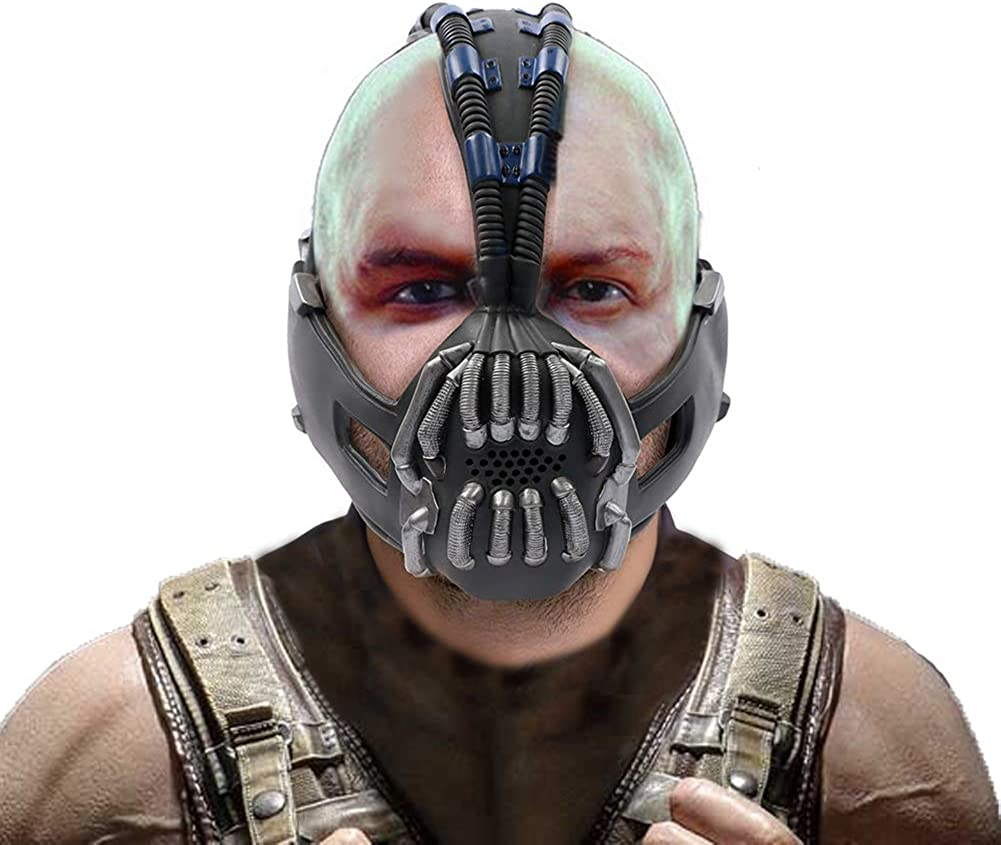Bane Mask Ranking National uniform free shipping TOP8 The Dark Knight Accessories Costume Rises for Cosplay