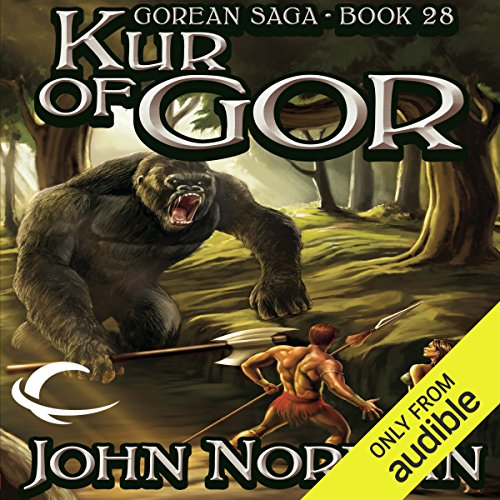 Kur of Gor     Gorean Saga, Book 28              By:                                                                                                                                 John Norman                               Narrated by:                                                                                                                                 Ralph Lister                      Length: 28 hrs and 54 mins     38 ratings     Overall 4.4