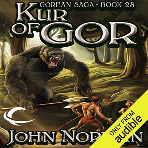Kur of Gor audiobook cover art