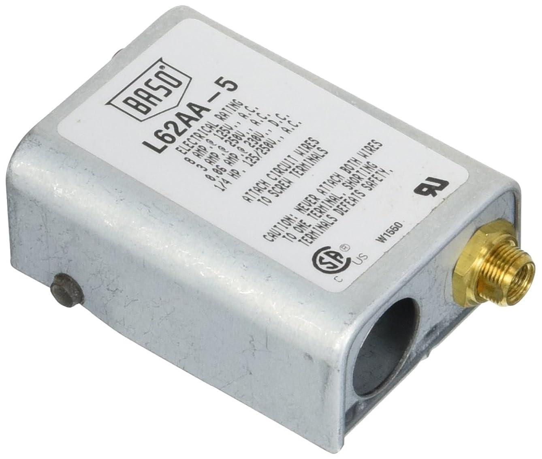 Honeywell L62AA-5C Manual Baso Switch