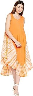 AASK Rayon a-line Dress