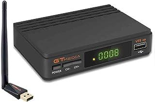 comprar comparacion GT Media V7s HD DVB-S2 Decodificador de Receptor Satelital Freesat V7 HD Actualización con Antena USB WiFi FTA 1080P Full ...