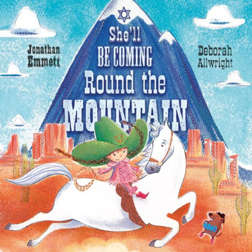 She'll be Coming Round the Mountain audiobook cover art