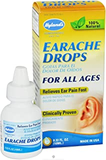 Hyland's Homeopathic Combinations Earache Drops 0.33 fl. oz. Cough & Cold - Single Item
