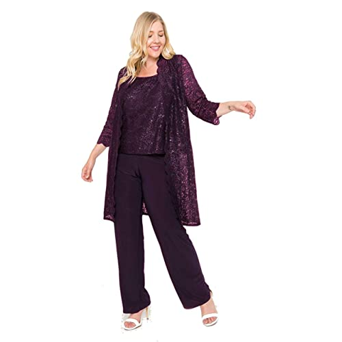 92c7975098319 R M Richards Mother of The Bride Plus Size Pant Suit