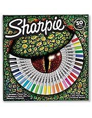 Sharpie Fine Permanent Markör 30'lu Karışık Kutu, Kertenkele - 2061127
