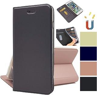 OnePlus 6 ケース 手帳型 OnePlus 6携帯カバー OnePlus 6 スマホケース OnePlus 6カバーJaorty内蔵マグネット カードポケット スタンド機能 PUレザー 超薄型 人気 おしゃれ4色-グレー
