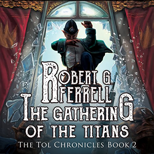 Gathering of the Titans audiobook cover art