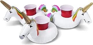 floating unicorn drink holder