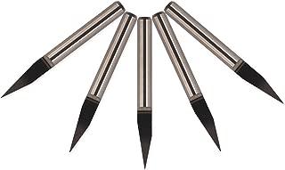 20 Degree Engraving Bits, EnPoint High-precision Carbide CNC Router Engraver Bits 3.175mm 1/8