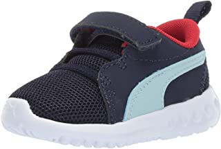 PUMA Carson 2 儿童运动鞋 Peacoat-light Sky-high Risk Red 6 M US Toddler
