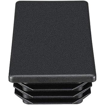 5 piezas tap/ón para tubo rectangular 40x20 mm blanco pl/ástico tapa de extremo tapas