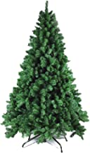 Artificial Christmas Tree Xmas Tree Environmentally Friendly PVC Convenient Green (Size : 2.1m-7ft)